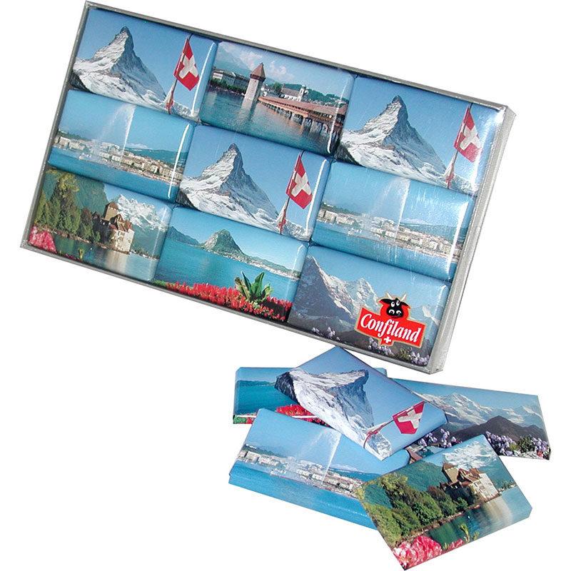 Chocolat Suisse paysage souvenir