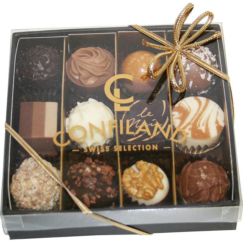 Chocolat Suisse pralinés